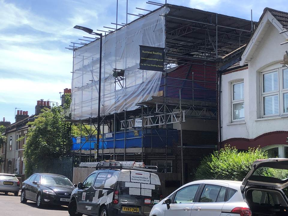 Nunhead Roofing Van and Scaffolding