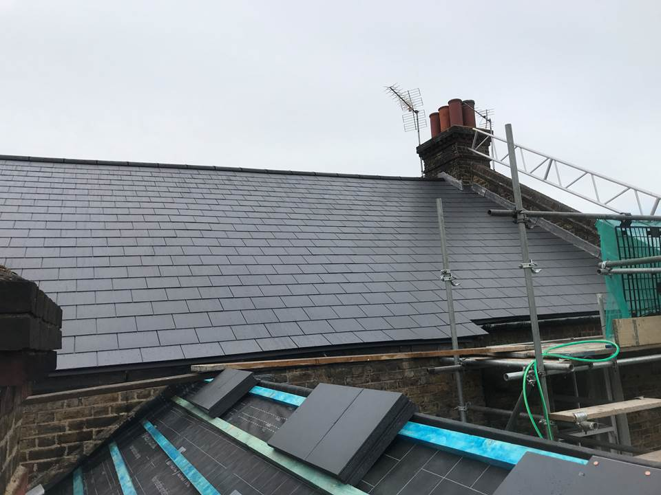 Central London Roof By Nunhead Roofing